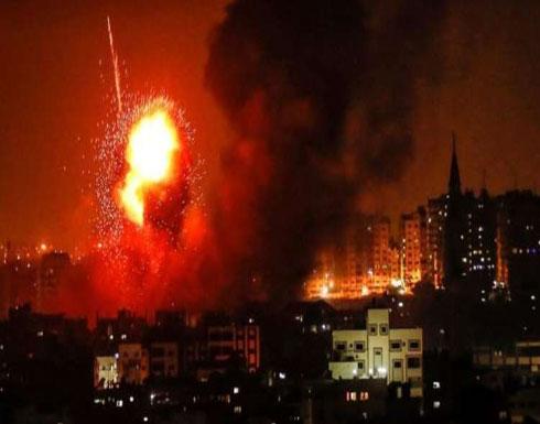 الطيران الإسرائيلي يستهدف مواقع في شرق جباليا بقطاع غزة