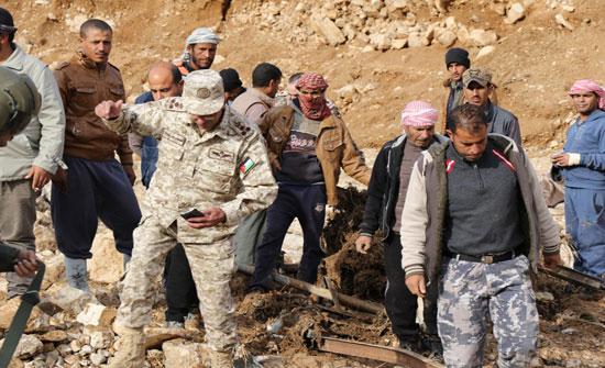صور : بيان من الجيش بشأن السيول