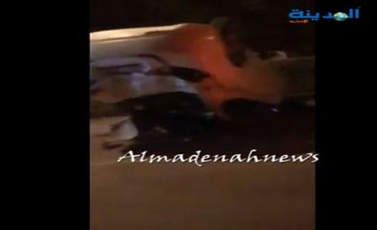 فيديو : حادث تدهور على طريق عمان السلط