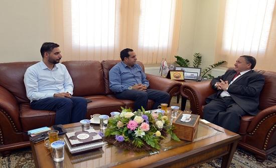 الدكتور الحوراني يلتقي مدير عام هيئة شباب كلنا الأردن