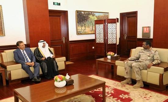 حميدتي يلتقي برئيس البرلمان العربي