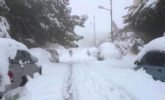 منخفض جوي يؤثر على المملكة الأربعاء والثلوج فوق الـ 1000متر