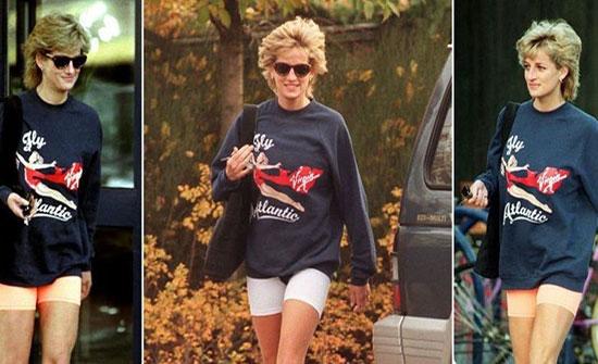 قضية إنسانية ومبلغ خيالي.. لهذا بيعت ملابس الأميرة ديانا الرياضية