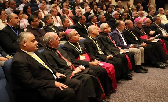 انطلاق أعمال المؤتمر القانوني الثامن للمحامين المزاولين لدى المحاكم الكنسيّة