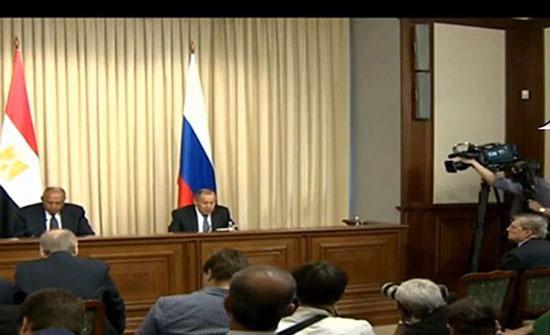 بالفيديو ..لافروف: موسكو تدعم الحوار بين إيران والعرب