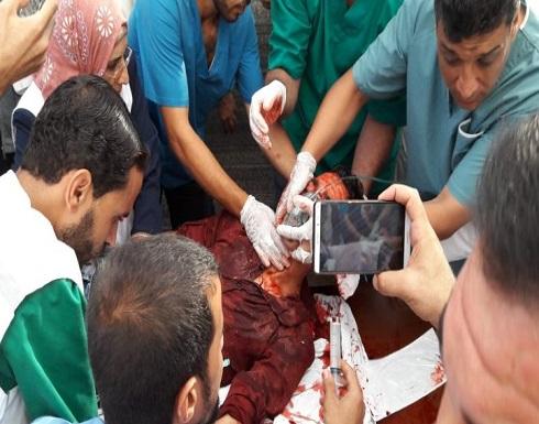 شهيدان وإصابات بقمع الاحتلال مسيرة العودة شرقي القطاع