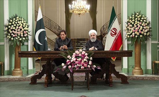 إيران وباكستان تتّفقان على تأسيس قوة مشتركة لمكافحة الإرهاب
