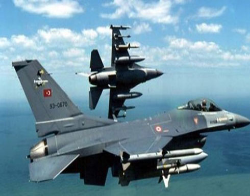 المقاتلات التركية تقصف الوحدات الكردية في عفرين شمالي سوريا (شاهد)