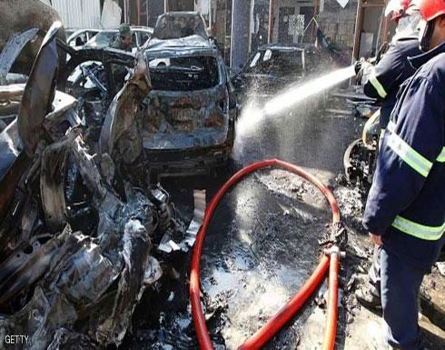 قتلى وجرحى بانفجار سيارة مفخخة غربي الموصل (فيديو)