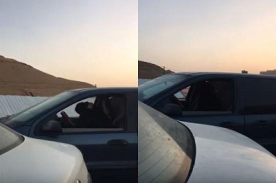 شاهد: ردة فعل فتيات بعد إصرار مواطن على توثيق وتصوير قيادتهم للسيارة