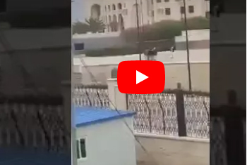 فيديو لحوثيين يرقصون داخل مسجد صالح