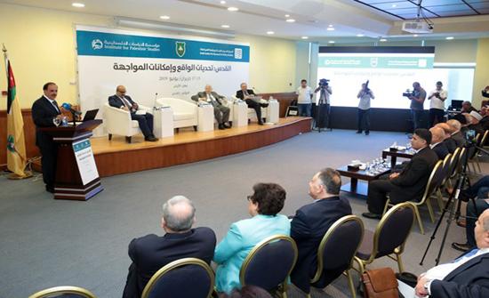 """انطلاق أعمال مؤتمر """"القدس: تحديات الواقع وإمكانات المواجهة"""" في """"الأردنية"""""""