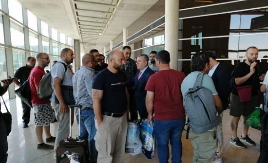 وصول 21 مهندسا أردنيا من العاملين في كازاخستان