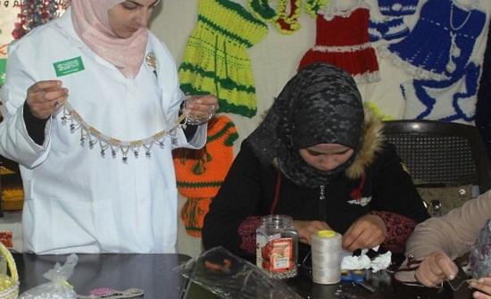 صور : مركز الملك سلمان يقدم دورات تدريبية لـ729 من اللاجئين السوريين بالزعتري