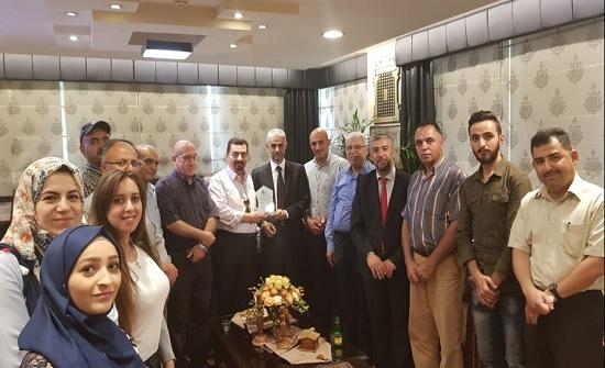 جمعية مهندسي الاتصالات والحاسبات تزور مؤسسة نور على نور