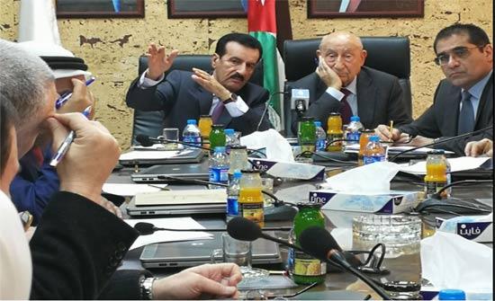 كتلة الإصلاح النيابية تلتقي مجلس إدارة مصفاة البترول