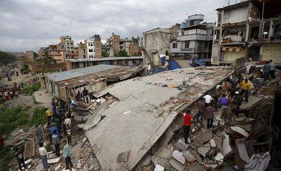 زلزال عنيف يضرب الولايات المتحدة