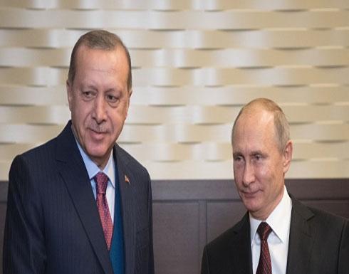 أردوغان وبوتين يتفقان على عقد قمة روسية تركية إيرانية حول سوريا في إسطنبول