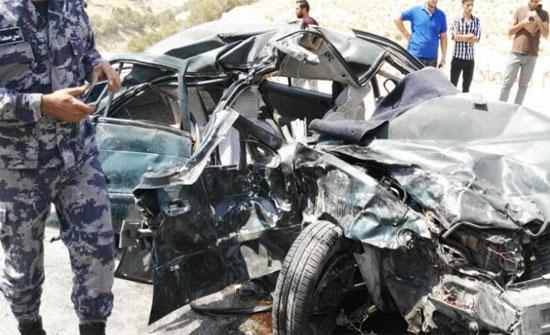 وفاة اربعيني اثر حادث تصادم في العدسية