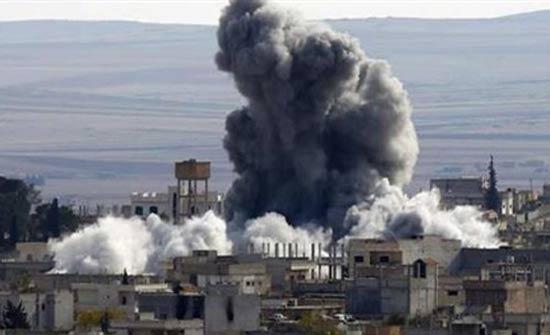 """غارات جوية على مناطق المعارضة """"تغضب"""" الأمم المتحدة"""