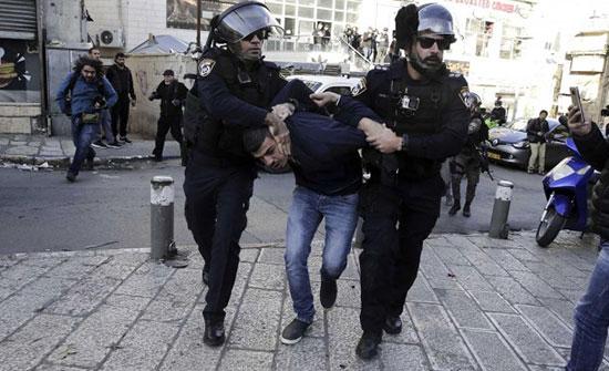 الاحتلال الإسرائيلي يعتقل 16 فلسطينيا في الضفة الغربية المحتلة