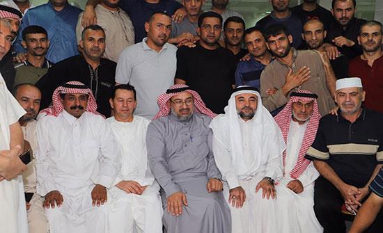 """""""وزير الاوقاف"""" يتفقد بعثتي الدفاع المدني وقوات الدرك في مكة المكرمة"""