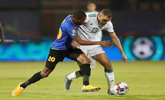 الجزائر تنهي دور المجموعات بأداء هجومي كاسح (شاهد)