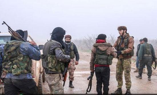 المعارضة تواصل تقدمها بحماة وإدلب وسط معارك عنيفة (شاهد)