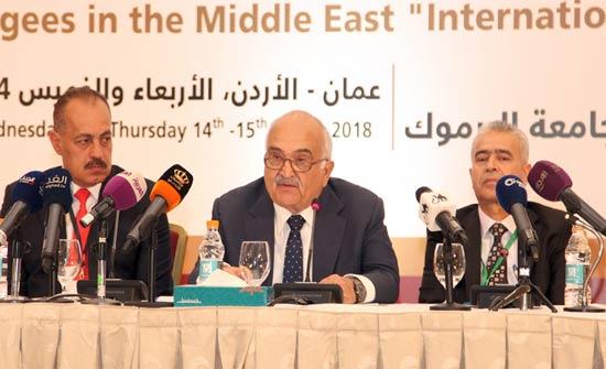 الأمير الحسن يرعى مؤتمرا دوليا حول اللاجئين في الشرق الأوسط