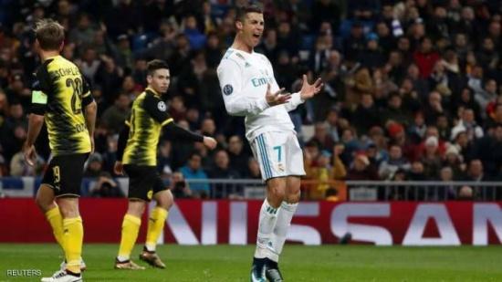 رونالدو يحقق رقما قياسيا جديدا في دوري الأبطال