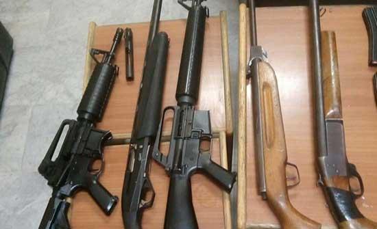 الامن : ضبط ٧١ شخصا و٧٩ سلاحا في حملة ضد الاسلحة غير المرخصة