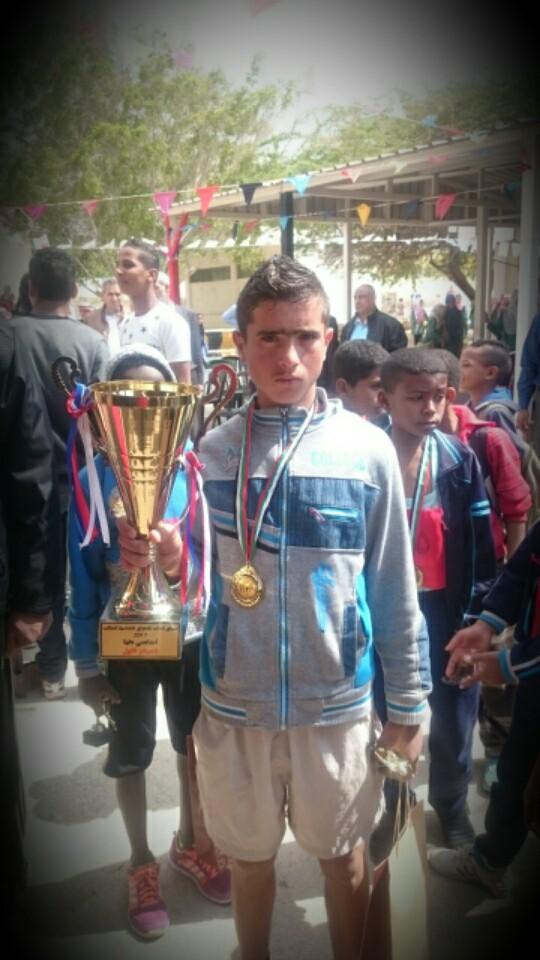 مبروك للطالب حسين المقداد حصوله على المركز الثالث في بطولة الوفاء للقائد