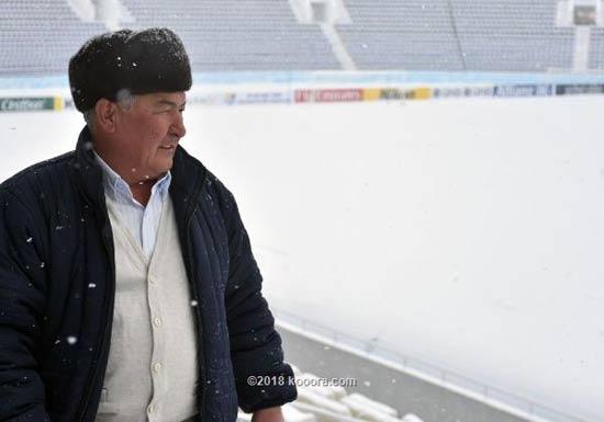 الثلوج تهدد مباراة الفيصلي وناساف