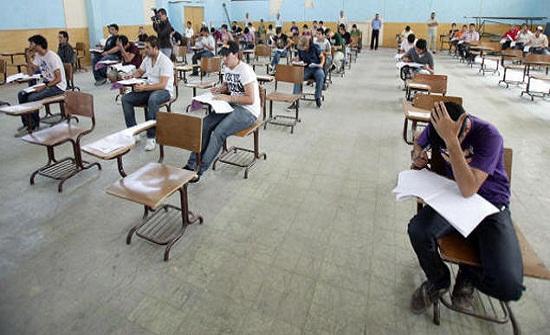 ارتياح عام بين طلبة التوجيهي لمجريات الامتحان في يومه الثالث