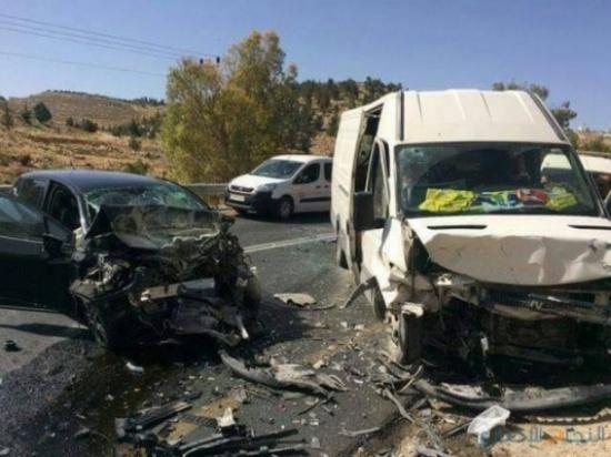 وفاة و5 اصابات بحادث في الجيزة
