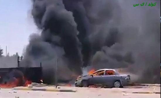 بالفيديو : قصف ميليشيات طرابلس لأهداف مدنية