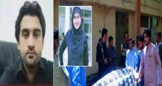 شاهد: باكستانية تكشف عن اسم قاتلها وتلفظ أنفاسها الأخيرة