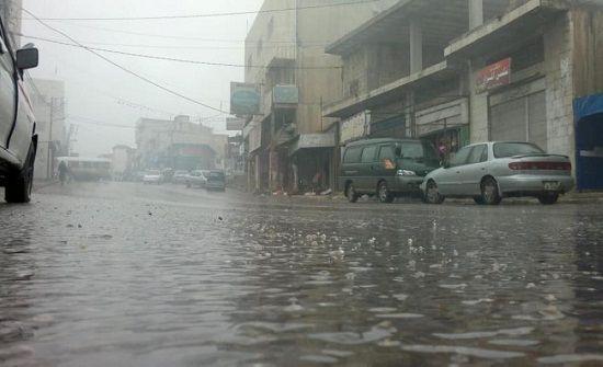 الربة منيف تسجل اعلى هطول مطري