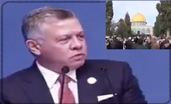بالفيديو :  مواقف ملكية  ثابتة من القدس وفلسطين