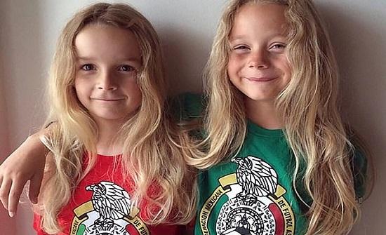 صبيان يحلقان شعرهما لأول مرة في عمر الـ 12 عاما (صور)