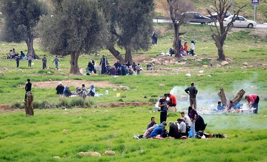 عجلون تشهد حركة اصطياف نشطة