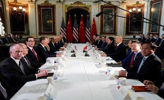 الصين: المفاوضات التجارية مع واشنطن صريحة وبناءة