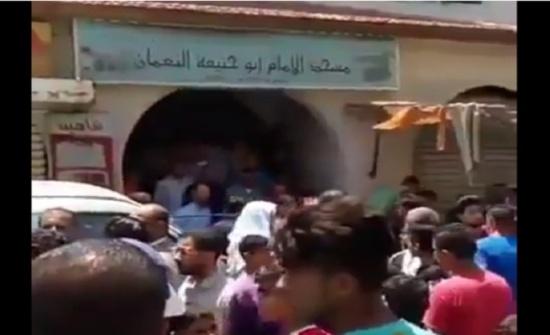 بالفيديو ... شاهدوا تشييع جثمان الطفل السوري والأهالي يهتفون بإعدام الجاني