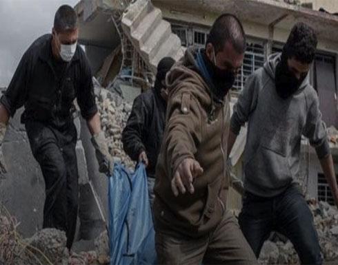 العثور على ٦٠٠ جثة تحت أنقاض  جزء من الموصل