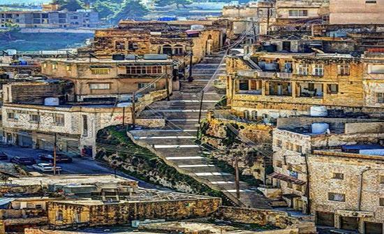 انطلاق حملة تجميل الوسط التراثي لمدينة السلط