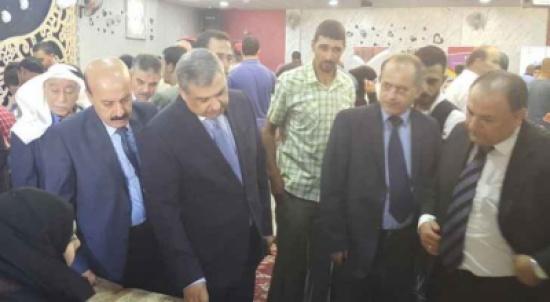 وزير العمل يفتتح المعرض التشغيلي الأول في الرصيفة