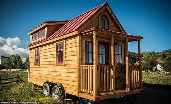 صور: امرأة تصمم منزلا مساحته 5 أمتار مربعة