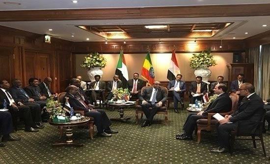 السيسي: مصر والسودان وأثيوبيا دولة واحدة.. ولا أزمة بسبب سد النهضة