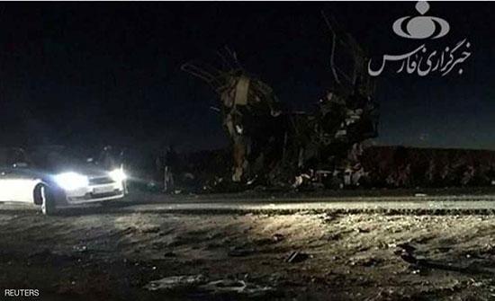 إيران تهدد بالرد على الهجوم الانتحاري خارج حدودها