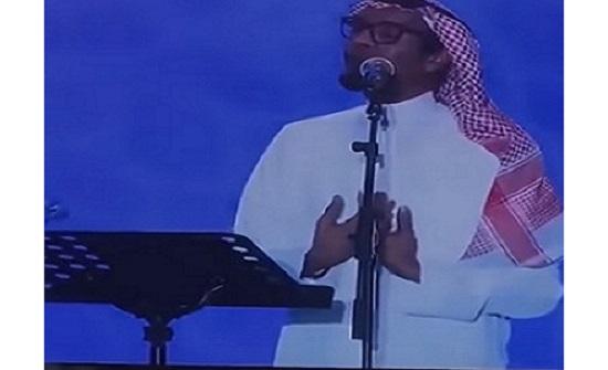 رابح صقر يبكي على المسرح .. تعرف على السبب.. فيديو